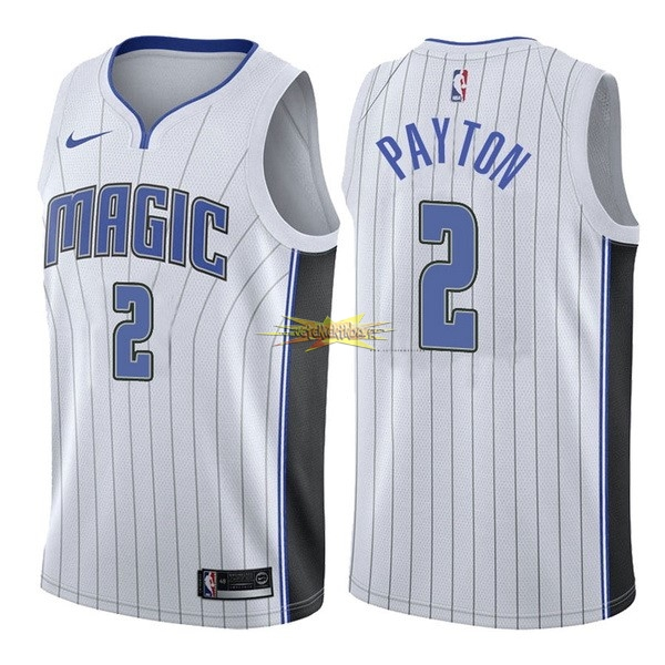 Nouveau Maillot NBA Nike Orlando Magic NO.2 Elfrid Payton Blanc Association