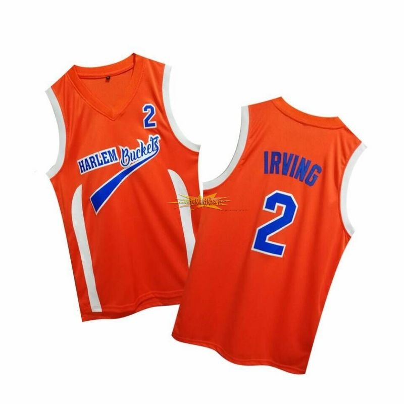 Nouveau Maillot NBA Film Basket-Ball Uncle Drew NO.2 Irving Rouge
