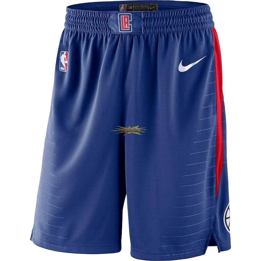 Nouveau Short Basket Los Angeles Clippers Nike Royal Bleu 2018