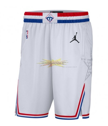 Nouveau Short Basket 2019 All Star Blanc