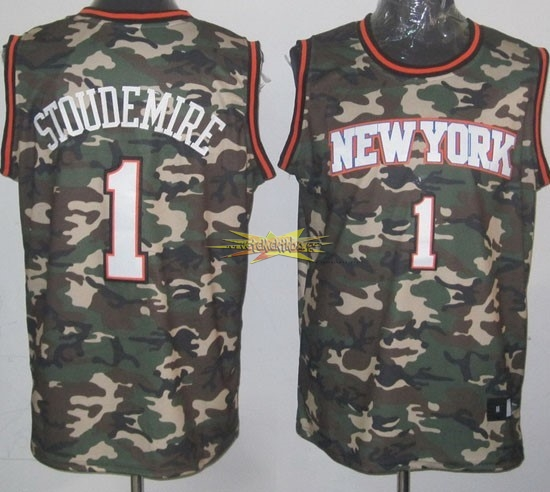 Nouveau Maillot NBA 2013 Camouflage Fashion NO.1 Stoudemire