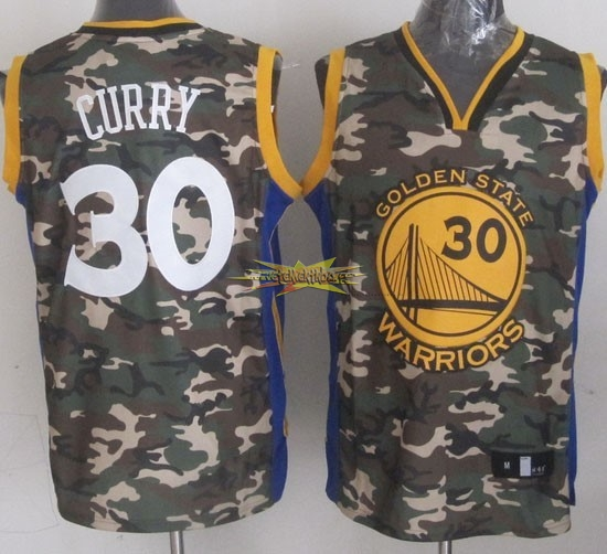 Nouveau Maillot NBA 2013 Camouflage Fashion NO.30 Curry