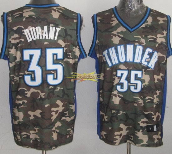 Nouveau Maillot NBA 2013 Camouflage Fashion NO.35 Durant