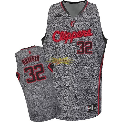 Nouveau Maillot NBA 2013 Static Fashion Los Angeles Clippers NO.32 Blake Griffin