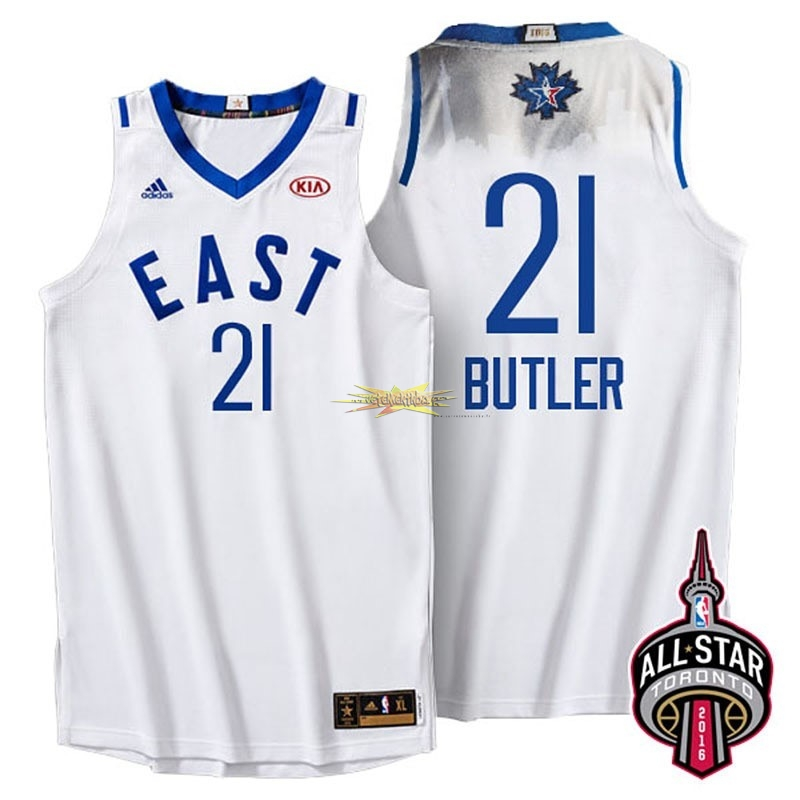 Nouveau Maillot NBA 2016 All Star NO.21 Jimmy Butler Blanc