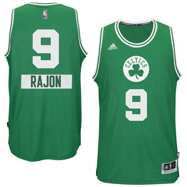 Nouveau Maillot NBA Boston Celtics 2014 Noël NO.0 Damian Noir