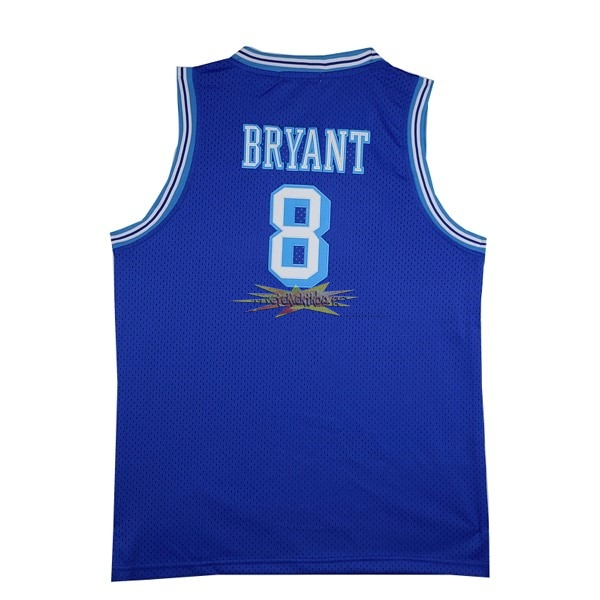 Nouveau Maillot NBA Los Angeles Lakers NO.8 Kobe Bryant Bleu