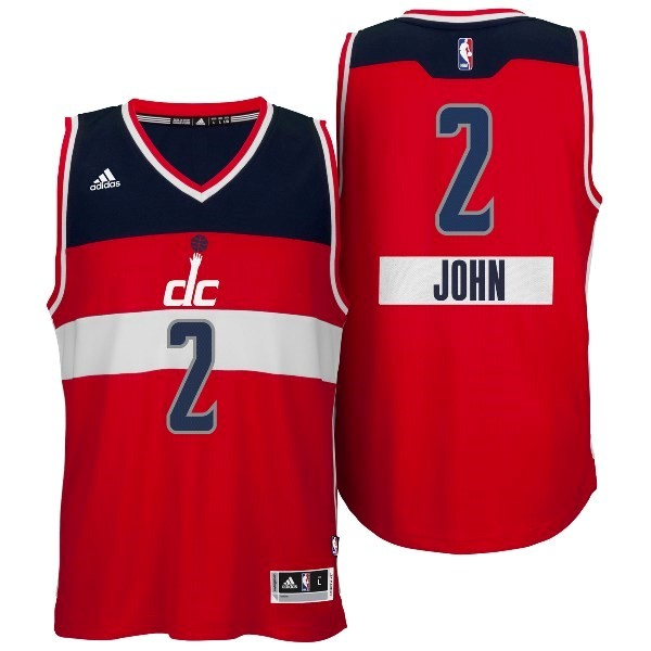 Nouveau Maillot NBA Washington Wizards 2014 Noël NO.2 John Rouge