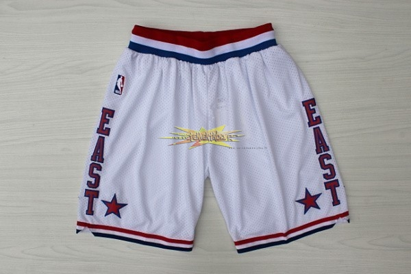 Nouveau Short Basket 2003 All Star Blanc