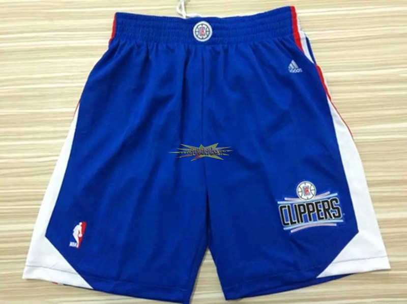 Nouveau Short Basket Los Angeles Clippers Bleu