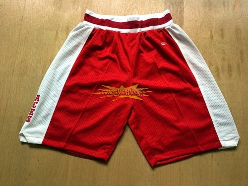 Nouveau Short Basket Lower Merion Rouge