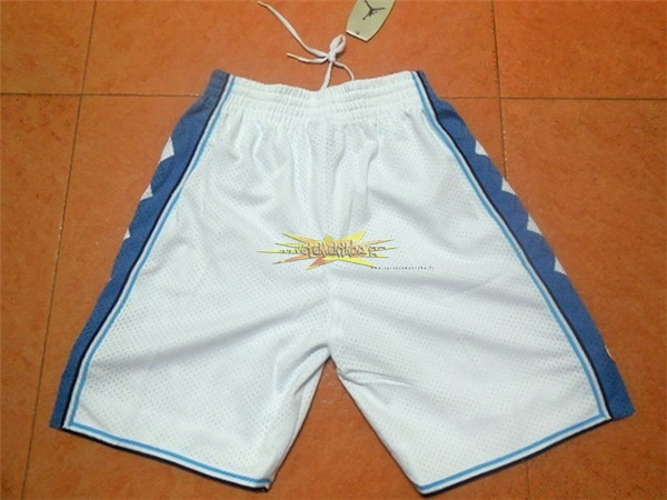 Nouveau Short Basket North Carolina Blanc