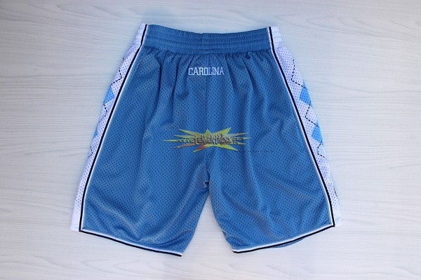 Nouveau Short Basket North Carolina Bleu