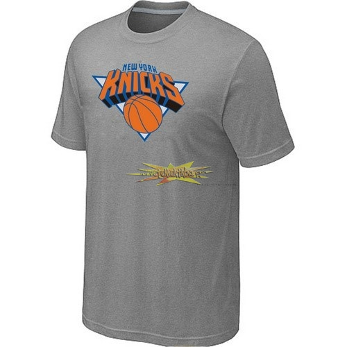 Nouveau T-Shirt New York Knicks Gris 001