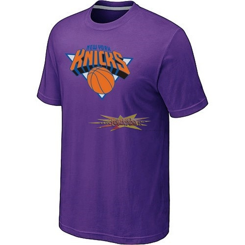 Nouveau T-Shirt New York Knicks Pourpre